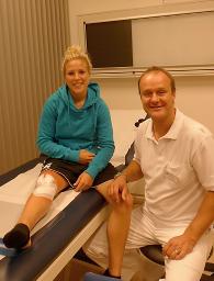 Dr. med. Ingo Tusk: Svenja Huth kann sicherlich in halben Jahr für den 1. FFC Frankfurt und die Nationalmannschaft wieder durchstarten