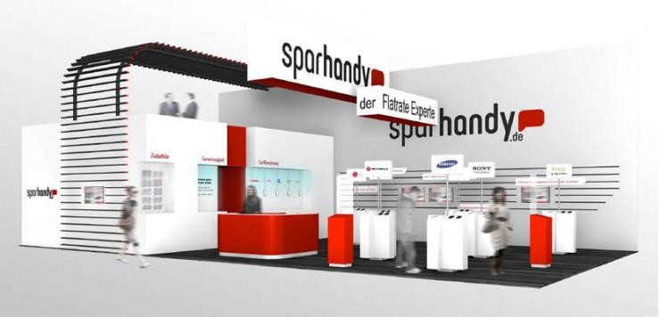 Mit Sparhandy.de auf der IFA 2013 exklusiv neue Smartphones testen