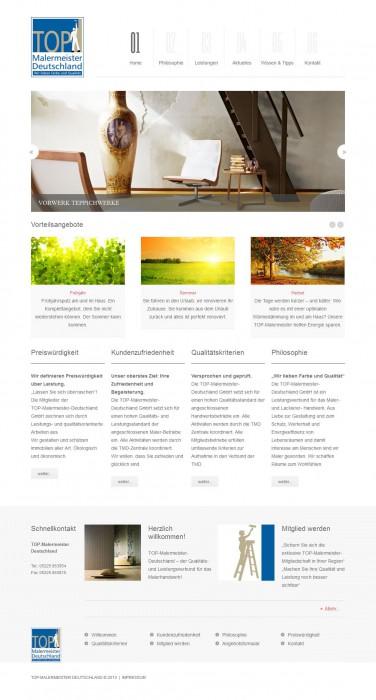 ProjektMarketing entwickelt Kommunikationskonzept für die TOP-Malermeister Deutschland GmbH