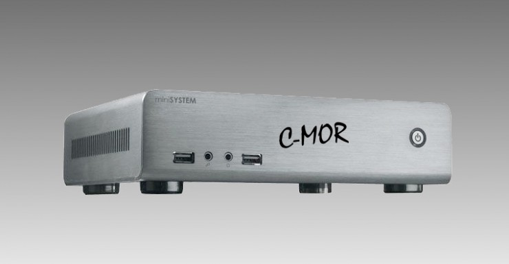 Neues lüfterloses Modell Videoüberwachung C-MOR-3S