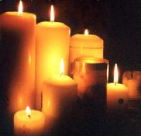 Eine virtuelle Kerze anzünden auf Kerze-anzuenden.de