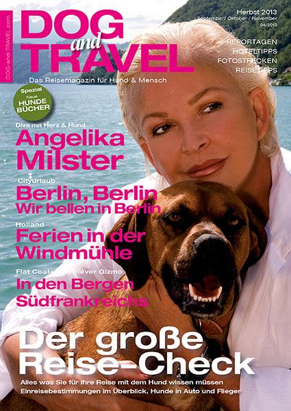 Herbstausgabe des neuen Reisemagazins für Hundebesitzer DOGandTRAVEL erschienen