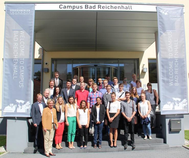Internationales Willkommen am IUBH Campus Bad Reichenhall