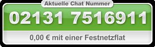 Eine Chat Nummer für den Handychat, alles andere ist überflüssig