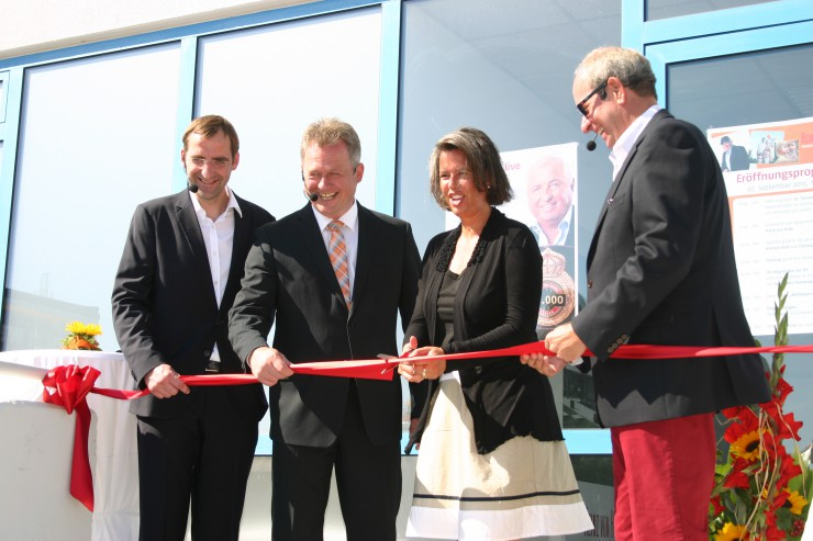 Eröffnung des Bauleistungszentrums Möckern