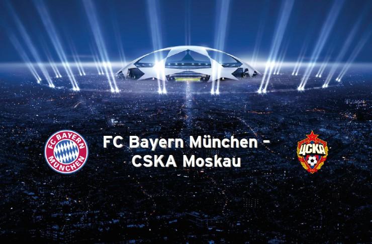 Bayern - ZSKA Moskau Live Stream auf live-stream-live.se