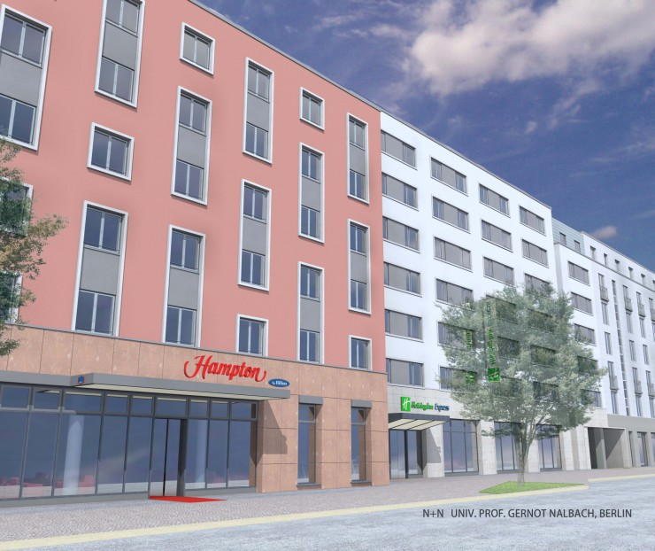 Wegweisendes Doppel-Hotelprojekt in Nürnberg mit Grundsteinlegung offiziell gestartet