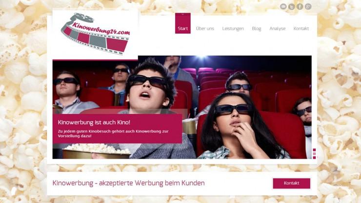 Brutto-Werbedruck wächst durch Kinowerbung im Juni 2013