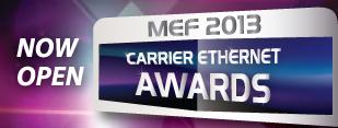 Carrier Ethernet Awards 2013 eröffnet