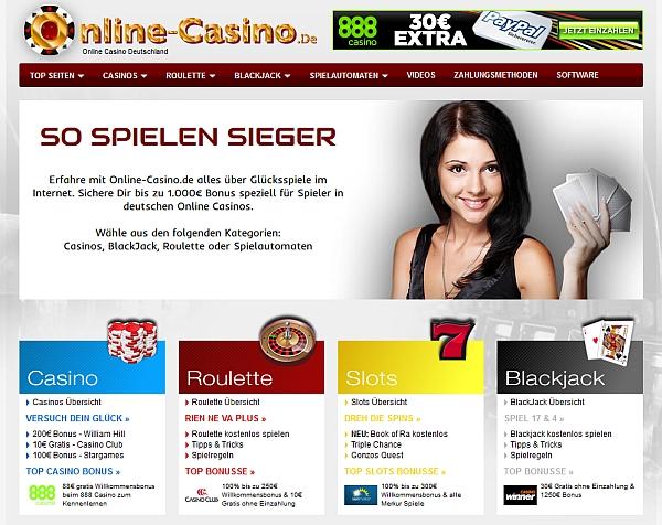 Online Casino werden immer belieber