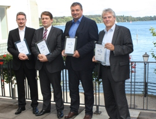 Vier gewinnen: cobra CRM Award 2013