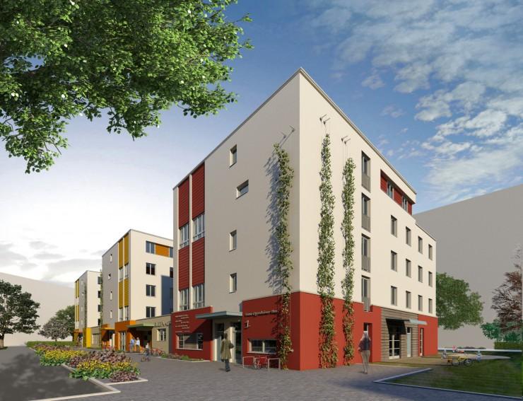 131 neue Studenten-Apartments im Frankfurter  Europaviertel bereits vor Übergabe voll vermietet
