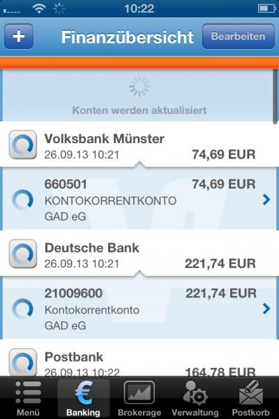 In neuem Look: GAD Online-Filiale+ für iPhone ab sofort im App Store verfügbar