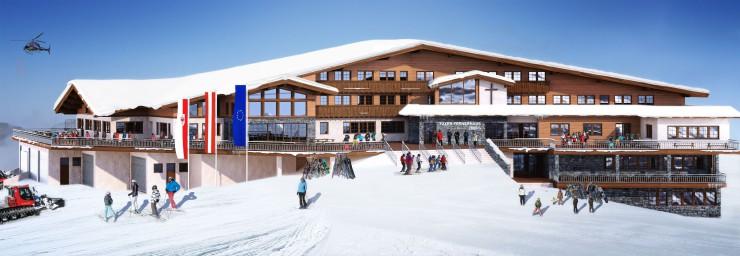 Superlative am Berg - das Tuxer Fernerhaus Neu