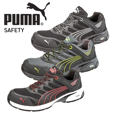 Neu: FUSE.TEC-Technologie bei PUMA Safety