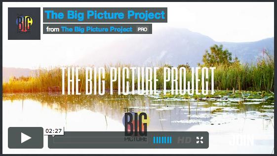 Experimentalfilm zum mitmachen? JA  The Big Picture Project macht es möglich
