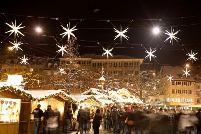 St.Gallen leuchtet im Sternenglanz