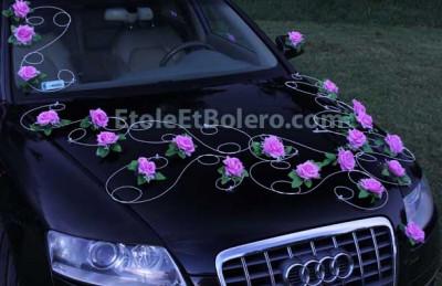 Decoration für das Voiture Mariage von Autoschmuck Hochzeit