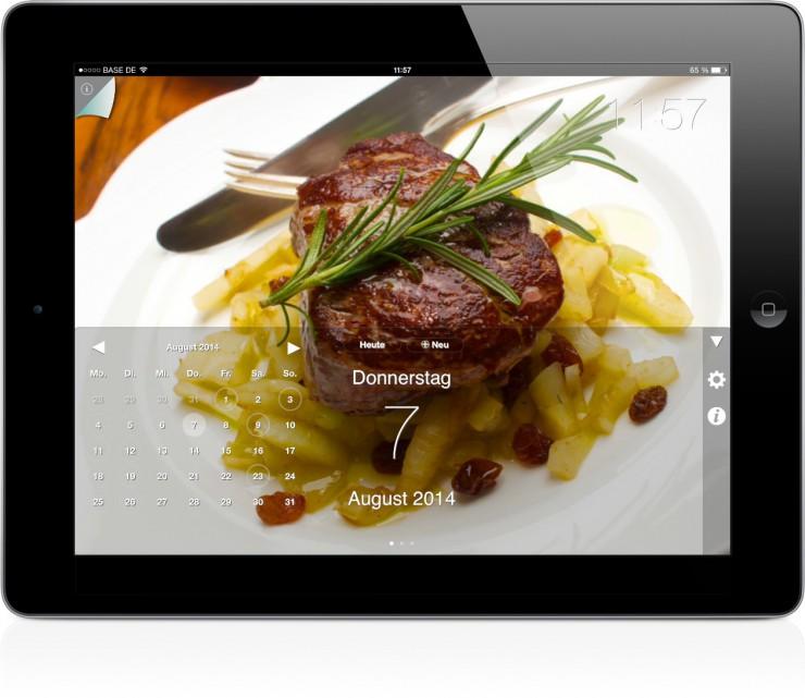 Thomas Sixt: Die Rezepte-Kalender-App für das ganze Jahr