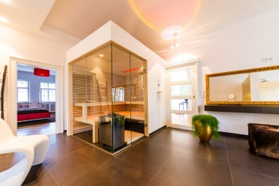 Designsauna fürs Badezimmer