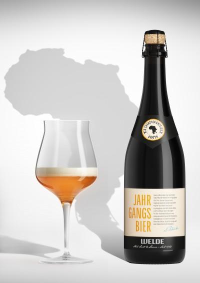 Das neue Welde Jahrgangsbier: Slowbeer aus der Champagnerflasche