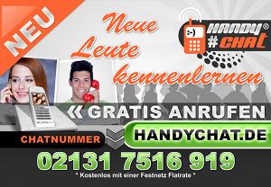 Handychat.de schaltet am 22.11.2013 die erste Plakatwerbung in Grevenbroich