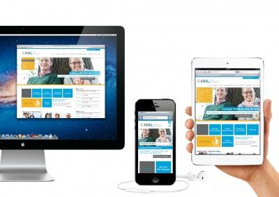 HHL's New Website Impresses with Innovative Design