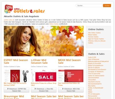 Online Outlets & Sales entwickeln sich zum neuen Shoppingtrend