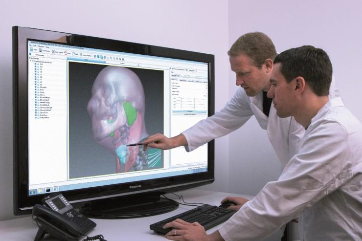 Software hilft bei der Behandlung von Tumoren