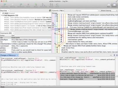 SmartGit/Hg 5 integriert GitHub und GitHub Enterprise Workflows