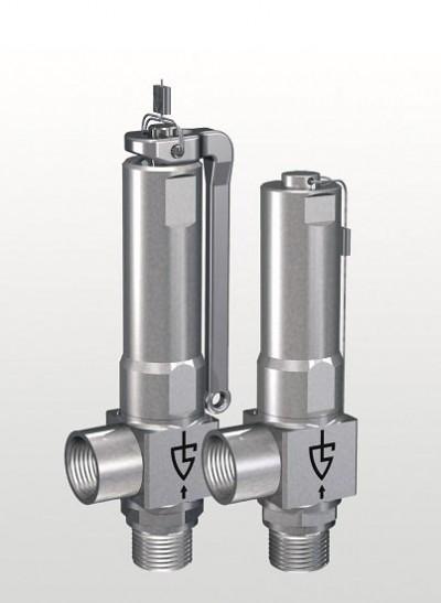 Kleinste Mengen exakt regeln - Mini-Sicherheitsventile aus Edelstahl von Goetze KG Armaturen