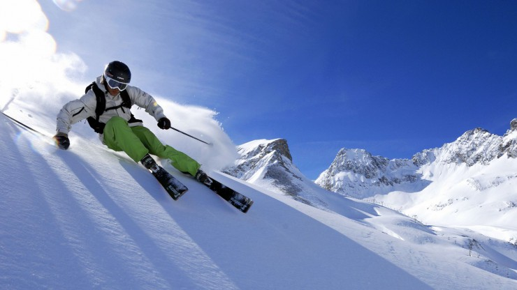 Wintersport am Arlberg
