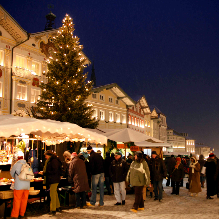 Traditioneller Christkindlmarkt in Bad Tölz