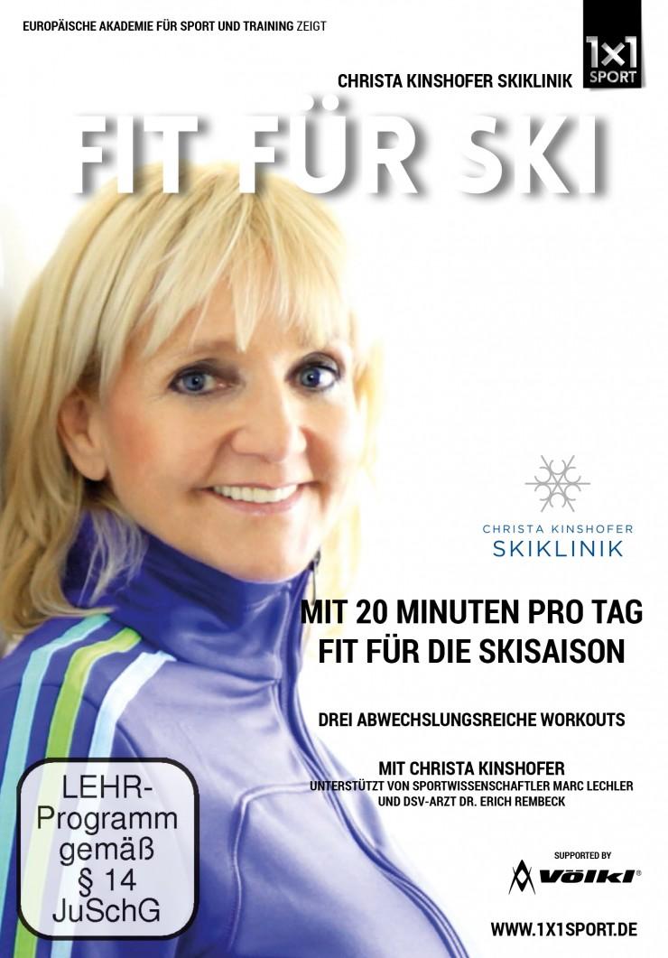 Mit Christa Kinshofer fit und verletzungsfrei durch die Skisaison