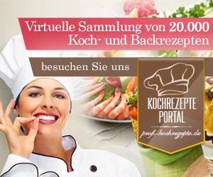Virtuelle Sammlung von mehr als 20.000 Kochrezepten und Backrezepten