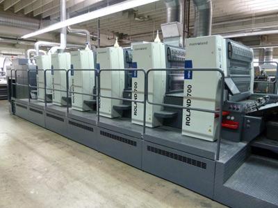 Primus-Print.de gibt Produktionsstart der neuen MANroland 706 bekannt