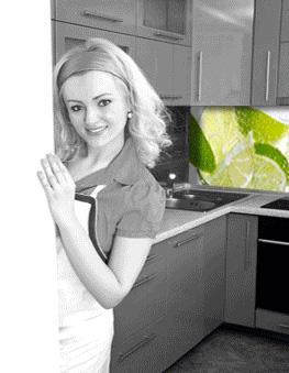 Mit be-druck-en lässt sich die Küche günstig umgestalten