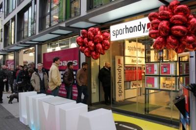 Handyshop 2.0: Sparhandy eröffnet ersten eigenen Flagshipstore