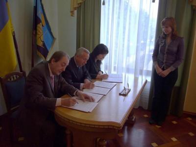 ETN e.V. unterzeichnet Memorandum mit der Stadt Donetsk