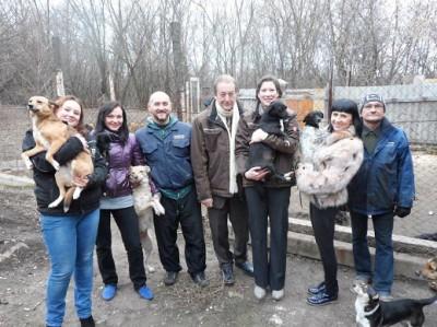 Vielversprechende Gespräche des ETN e.V. in Gorlovka (Ukraine) zur Streunerproblematik