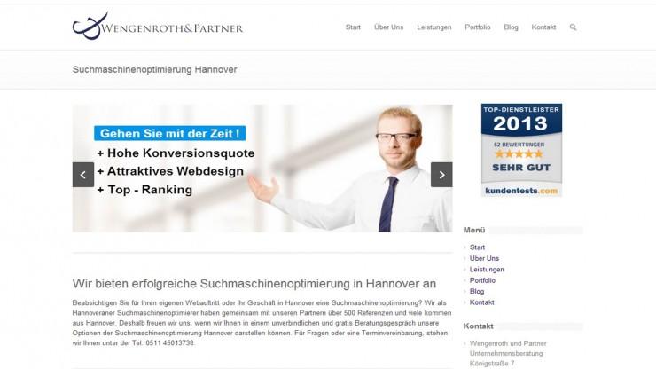 Lokale Suchmaschinenoptimierung für Hannover immer wichtiger