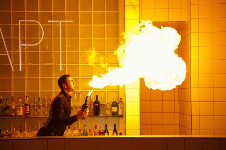 Cocktail-Show am Messestand - Besuchermagnete schaffen