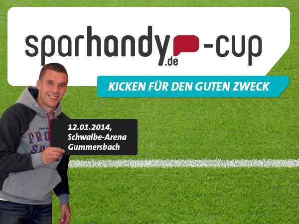 Sparhandy.de Cup 2014 - Kicken für den guten Zweck