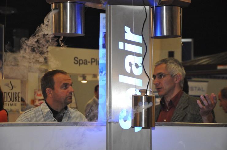Ultraschall-Sole-Vernebelungsgeräte von Solair