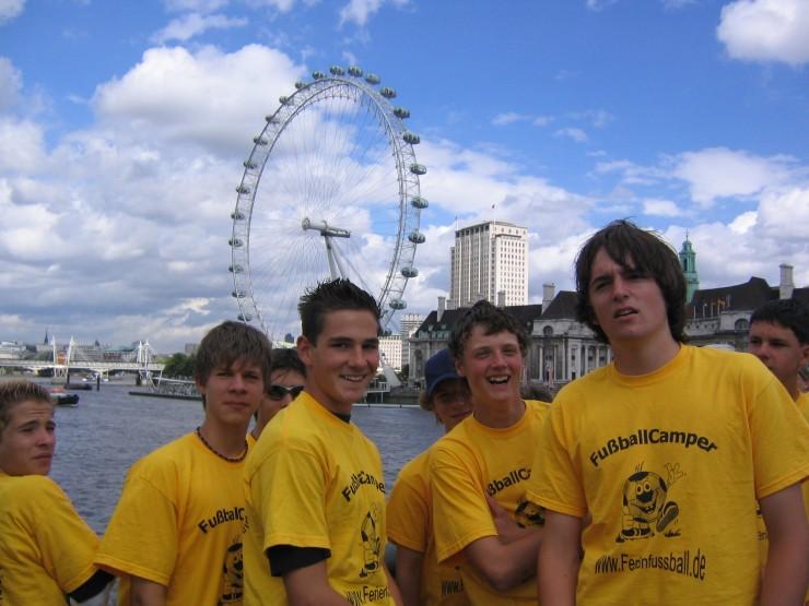 Einmalige Fußballreise nach England mit Sprachunterricht