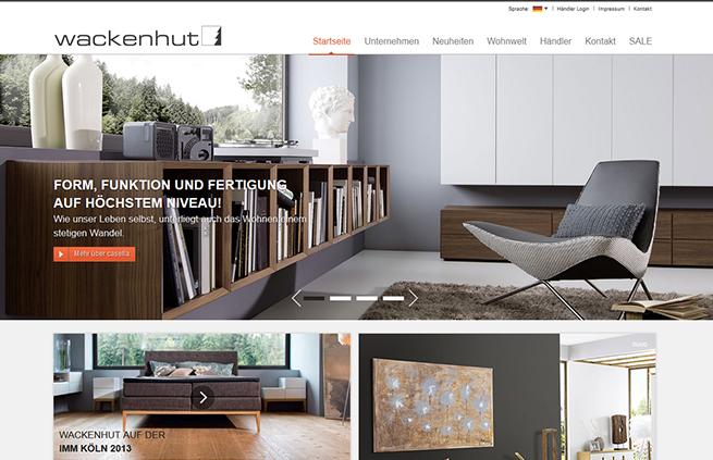 Mediagraphik launcht Online-Auftritt eines exklusiven Möbelherstellers