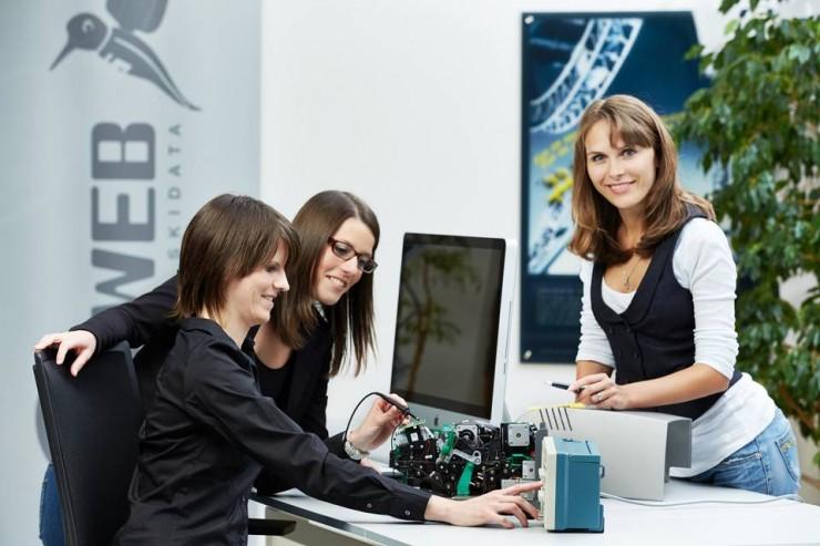 Ein Arbeitgeber zum Anfassen: Job Shadowing bei SKIDATA in Klagenfurt