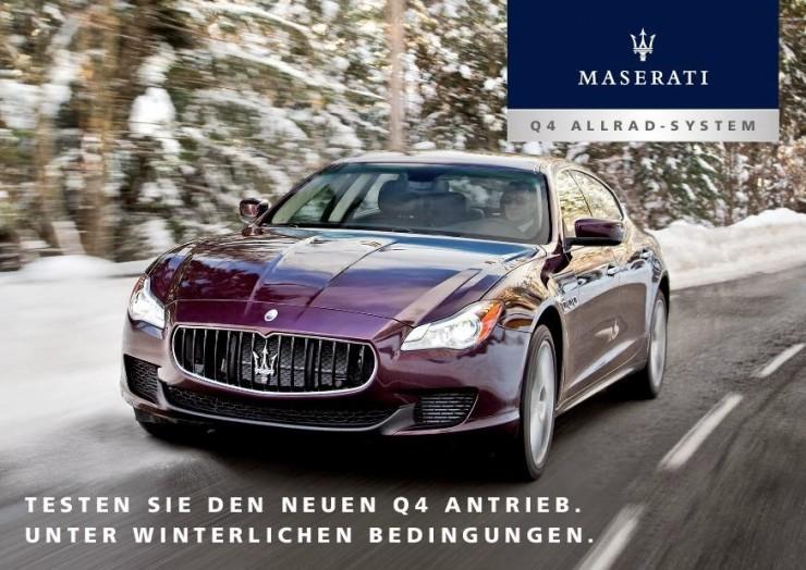 Maserati Winter Tour macht Halt in Hintertux
