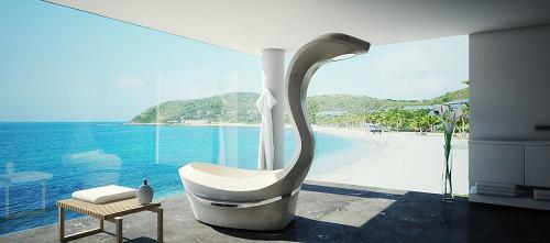 SPA-Objekt: JUMAMBA übersetzt Luxus und Design der Antike für die Moderne