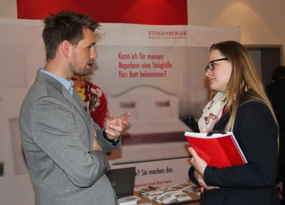 CareerDay an der Steigenberger Akademie